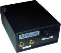Menič konvertor z 100V rozvodu na linkový signál a slúchadlový výstup KAC108