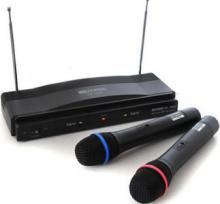 Bezdrôtove mikrofony 2x ručný HWFM9060